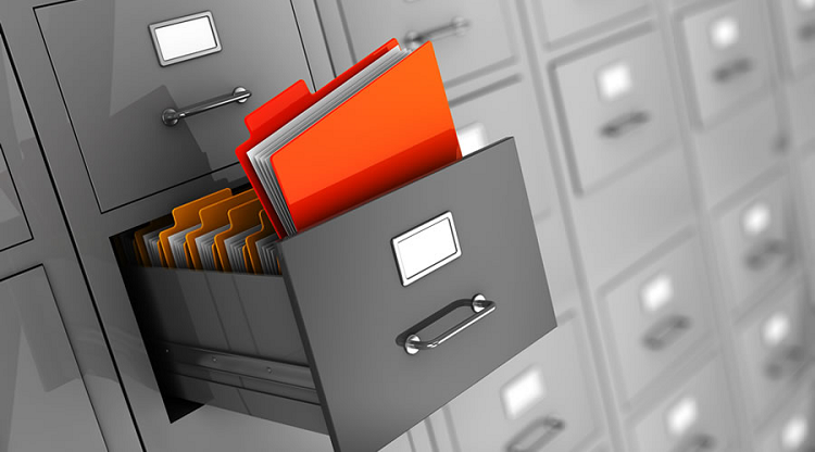 Secure Physical Storage of Business Documents