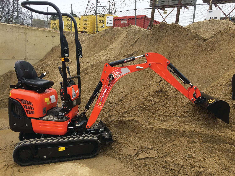 Hiring Mini Excavators in the UK